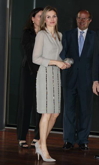 La Princesa de Asturias asistió a su primer acto oficial en solitario desde el anuncio de la abdicación de don Juan Carlos