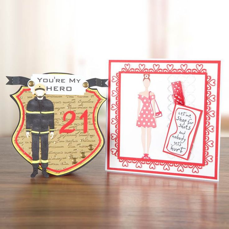 #Card designs from the brand new #TatteredLace George and Bella New Wardrobe Multibuy! Available to buy tonight on Ideal World at 9PM - http://www.idealworld.tv/ShowGridView.aspx?showId=2500323 #papercraft #cardmaking