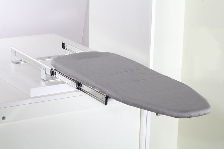 Mini ironing board that folds in and out of your cupboard. Why ever buy one thats full length?