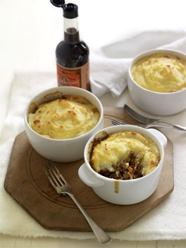 shepherd's pie- I used a mix of this, Jamie Oliver and Gordon Ramsay's recipes for mine~