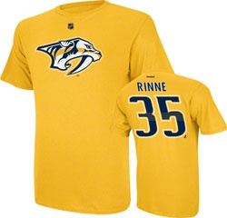 Pekka Rinne Gold Reebok Name and Number Nashville Predators T-Shirt $24.99 http://www.fansedge.com/Pekka-Rinne-Gold-Reebok-Name-and-Number-Nashville-Predators-T-Shirt-_543554182_PD.html?azproducts=29-04244=pinterest_pfid29-04244