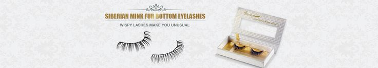 As a kind of fashionable goods newly developed in the cosmetic industry, the Siberian mink fur bottom eyelashes are specially designed for the lower eyelashes. Such bottom lashes are also made of the top quality Siberian mink fur and thus they are extraordinarily comfortable.