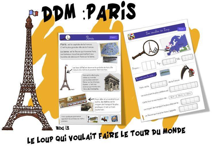 Fiche de DDM et diaporama sur Paris