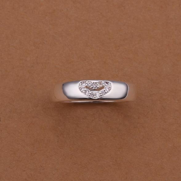 Кольца посеребренная ювелирных изделий кольца 925 мычка изысканный современные женщины мода симпатичный кольцо wqqd LSR238
