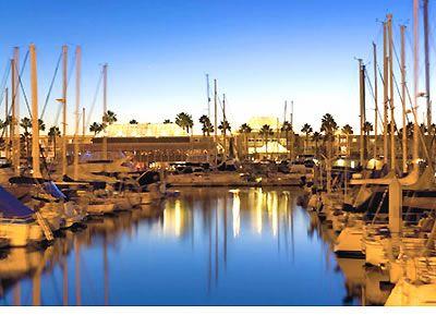 The Portofino Hotel and Yacht Club in Redondo Beach, CA