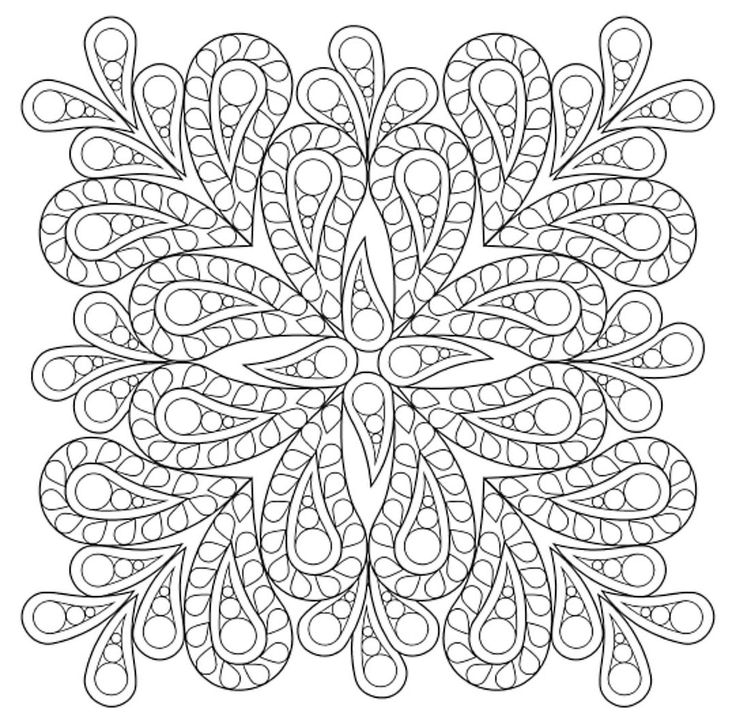 Mandala 650, Creative Haven Paisley Mandalas Coloring Book, Dover Publications
