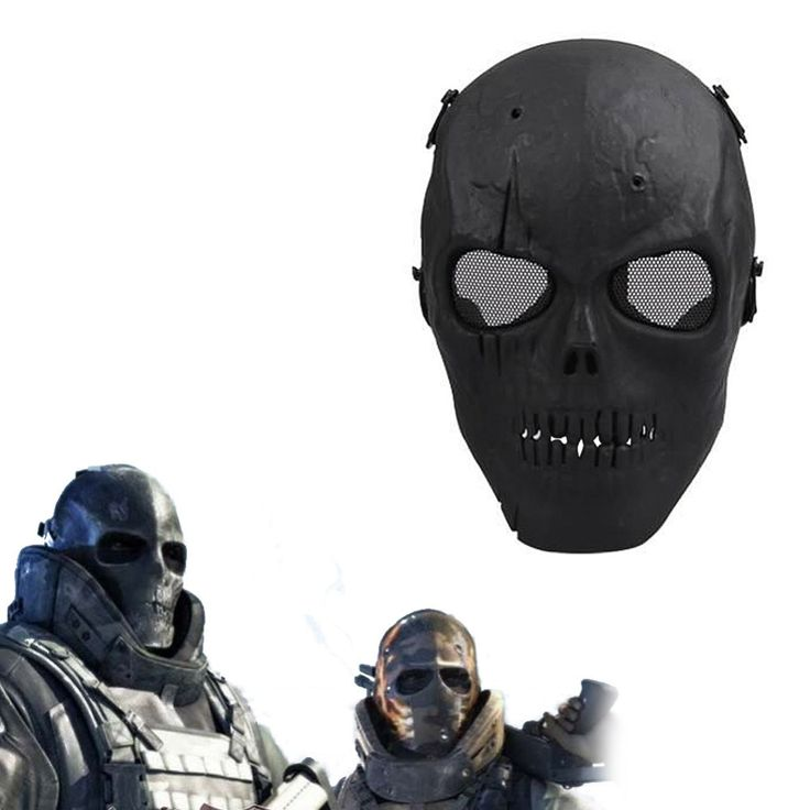 Army Mesh Full Face Mask Skull Skeleton Airsoft Paintball BB Gun Game Protect Safety Mask #>=#>=#>=#>=#> Click on the pin to check out discount price, color, size, shipping, etc. Save and like it!