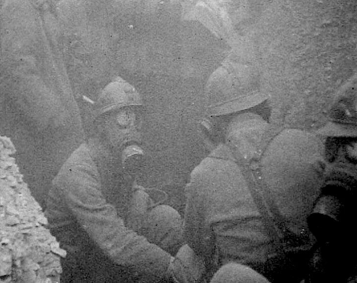 GAS: There were three main types of poisonous gas used in trench warfare: chlorine, phosgene and mustard gas. Although it could kill, chlorine gas was easy to detect. Mustard gas was first used by the Germans in 1917 and it was incredibly effective. Although it wasn't as fatal as phosgene, mustard gas could linger over the battlefields and cause horrific burns. Phosgene however was a lot more powerful and it was difficult to detect - this became the main killing gas of WWI.
