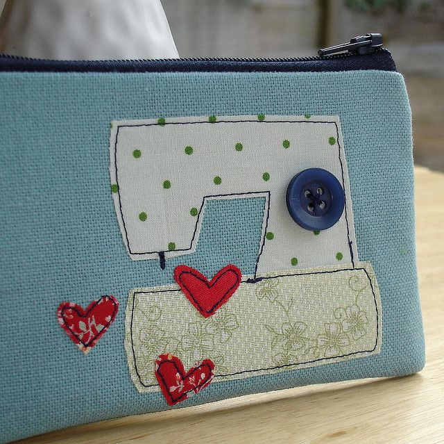 """I love sewing"" in mini form by DinkyDaisy, via Flickr"