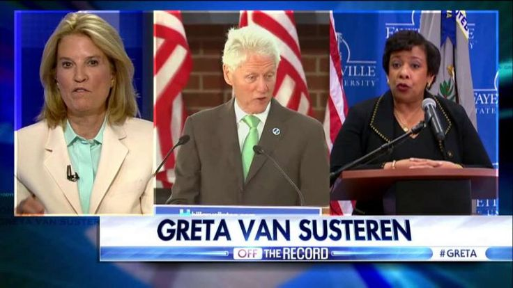 Greta Lynch Clinton recuse