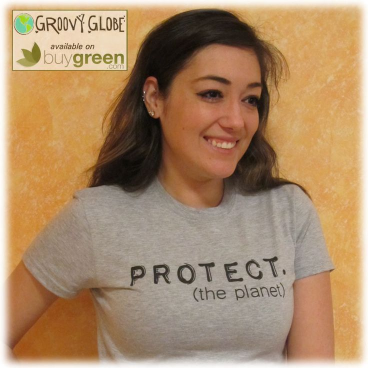 Groovy Globe PROTECT Women's Statement Tees