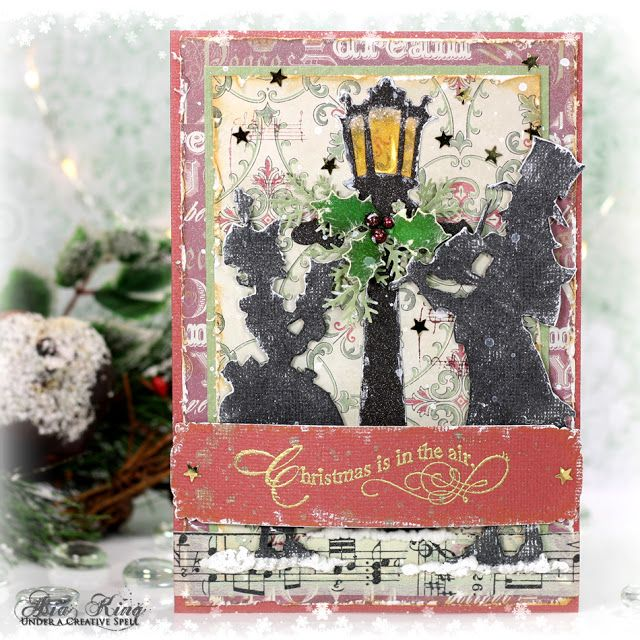 Christmas is in the Air! ~ Under a creative spell #cre8time