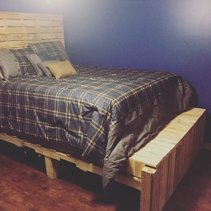 25+ Best Ideas About Pallet Bedroom Furniture On Pinterest