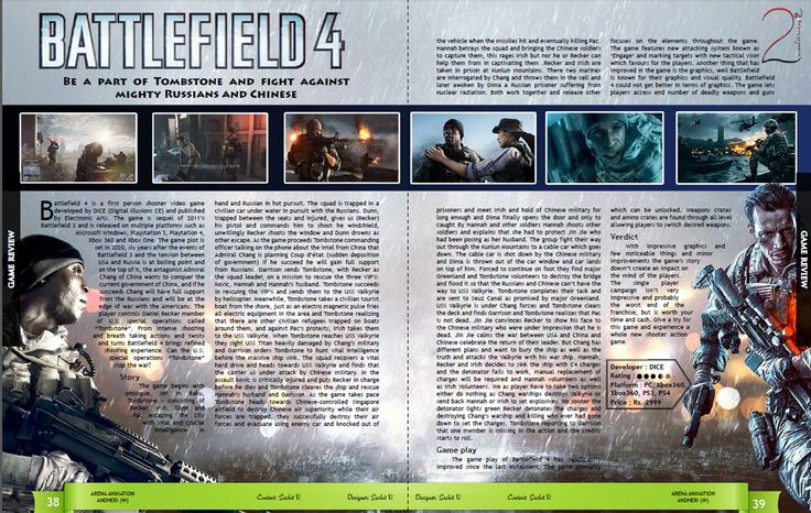 Battlefield 4 one heck of a game,especially the visuals and graphics....(Full review)