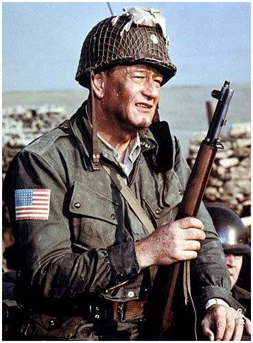John Wayne in 'The Longest Day' - http://www.dunway.com/