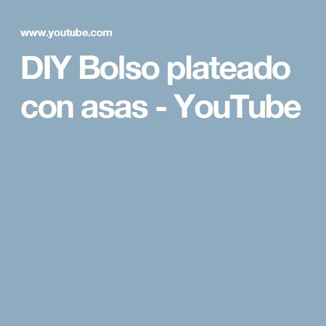 DIY Bolso plateado con asas - YouTube