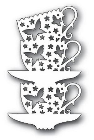Tutti Designs - Cutting Die - Stacked Butterfly Cups,$9.59
