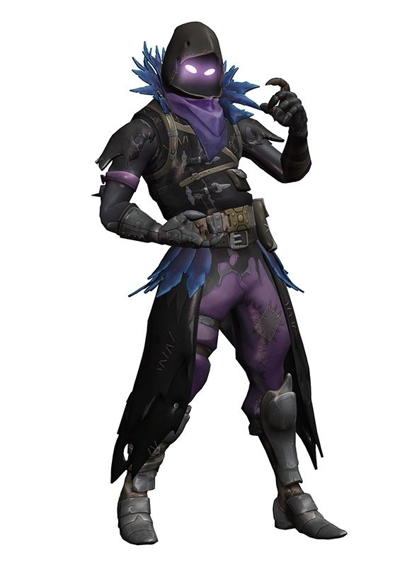 Mmd Fortnite Raven Quill By Arisumatio D D Inspirations Raven