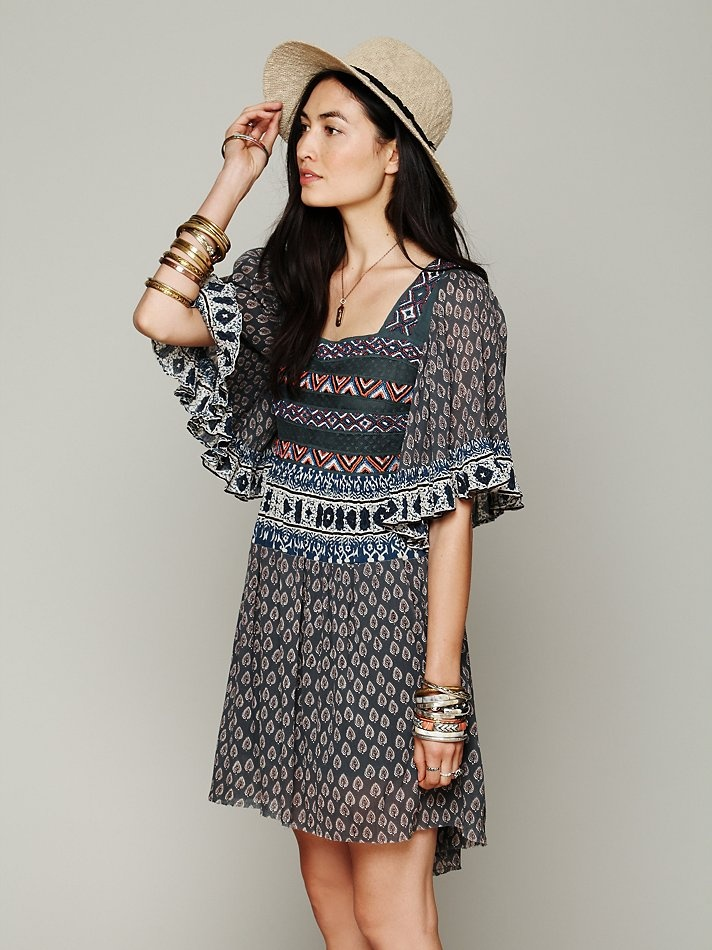 Free People Desert Night Dress at Free People Clothing Boutique