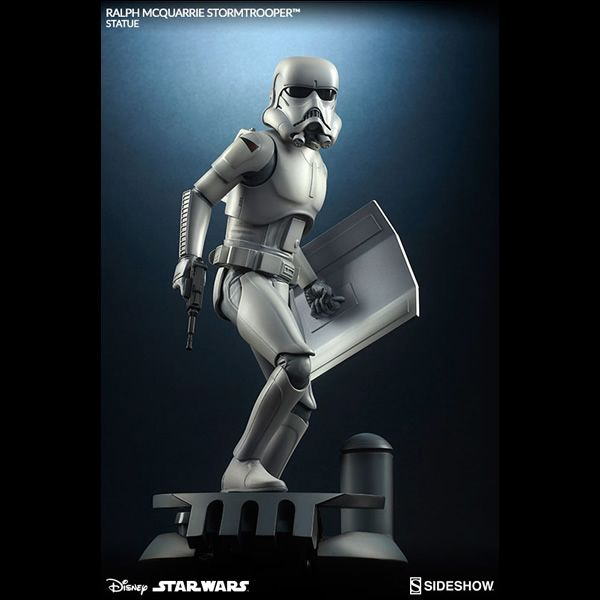 Inspired by Ralph McQuarrie's pre-production artwork for Star Wars: A New Hope, Sideshow Collectibles is proud to present the Stormtrooper Statue.