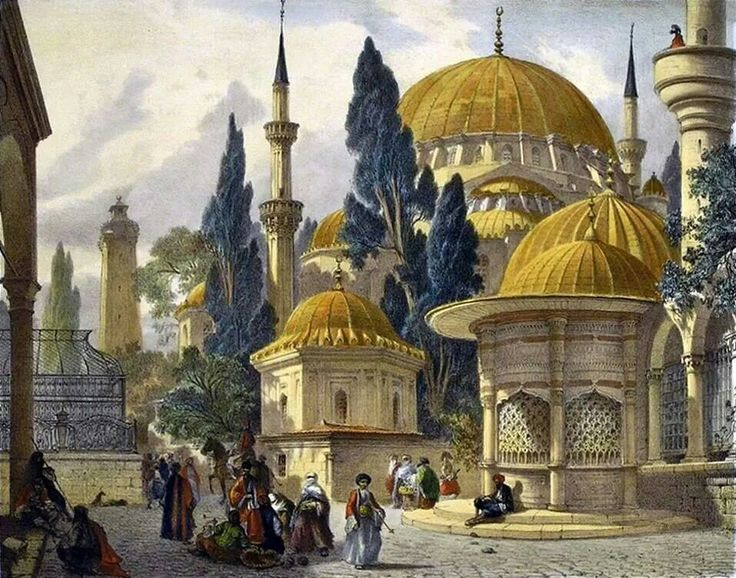 Turrets of Istanbul