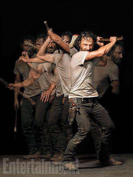 The Walking Dead : nouvelles images stylées pour la saison 5 - News Série Tournages - AlloCiné