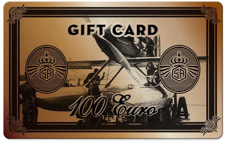 GIFT CARD 100 EUR  CARTA REGALO 100 EUR  1 x Poloshirt  1 x Tshirt
