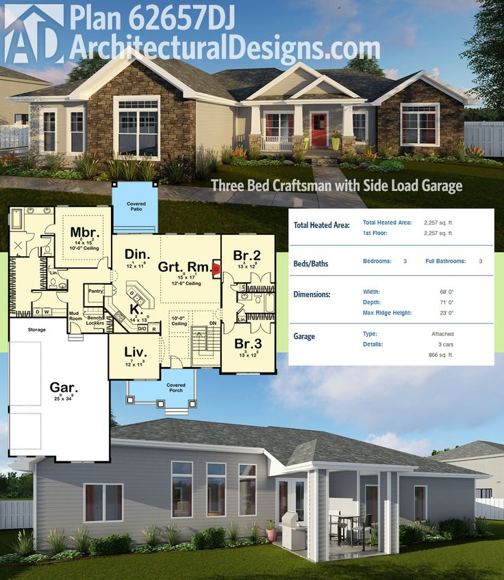 123 Best House Plans Images On Pinterest Architecture