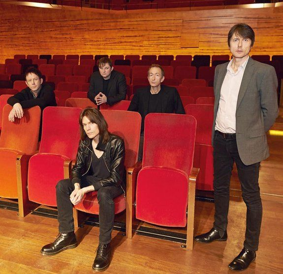 Suede in Copenhagen. Photo taken by Scarlet Page (daughter of Jimmy) for Q Magazine #Q357