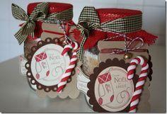 muffin al cioccolato in barattolo