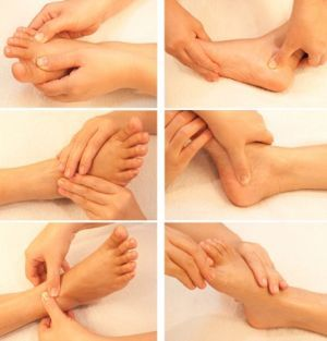 Reflexology Information and a Reflexology Chart