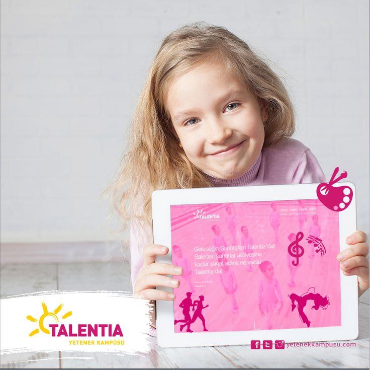 Talentia'ya dair gelişmeleri web sitemizden takip edebilirsiniz. http://yetenekkampusu.com/ #Talentia'da! #TalentiaYetenekKampüsü #Dans #Müzik #Sanat #Spor #yetenek #yeteneklerfora #yetenekkampusu #eğitim #kariyer #gelecek #talent #eğlence #web #yenilikleri #takip #edin