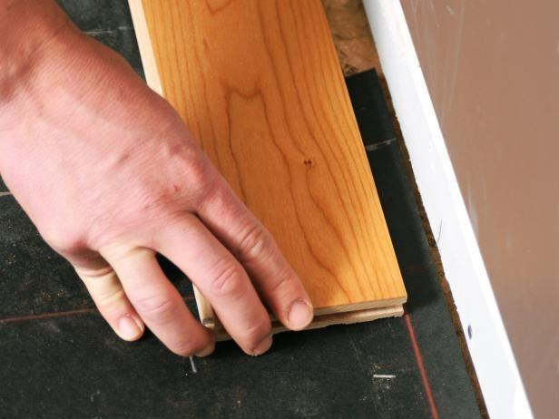 Installing pre-finished hardwood floors