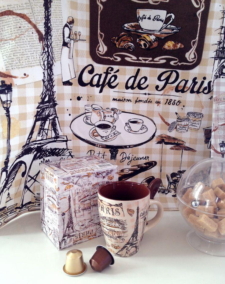 Lutheen - Café Paris https://www.facebook.com/lutheen.illustration/