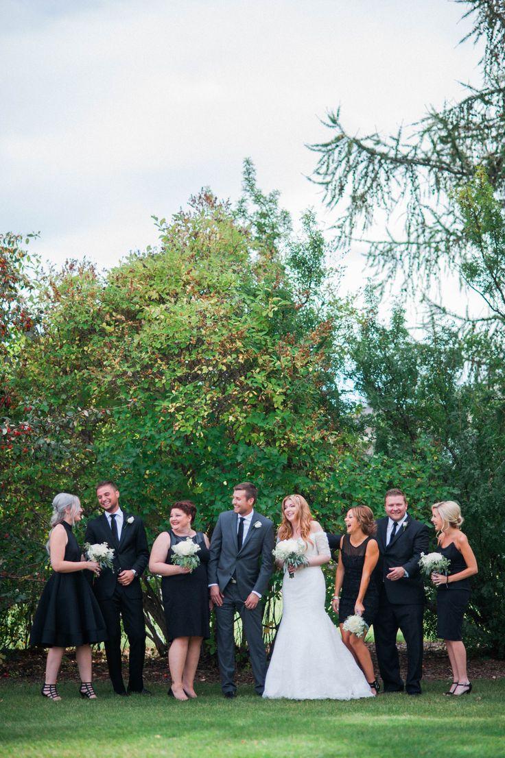 Hayley + Aaron / married / La Cite Francophone / Edmonton wedding / The Bridal Party by Rhiannon Sarah Photography