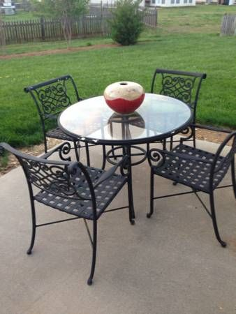 25 best ideas about iron patio furniture on pinterest