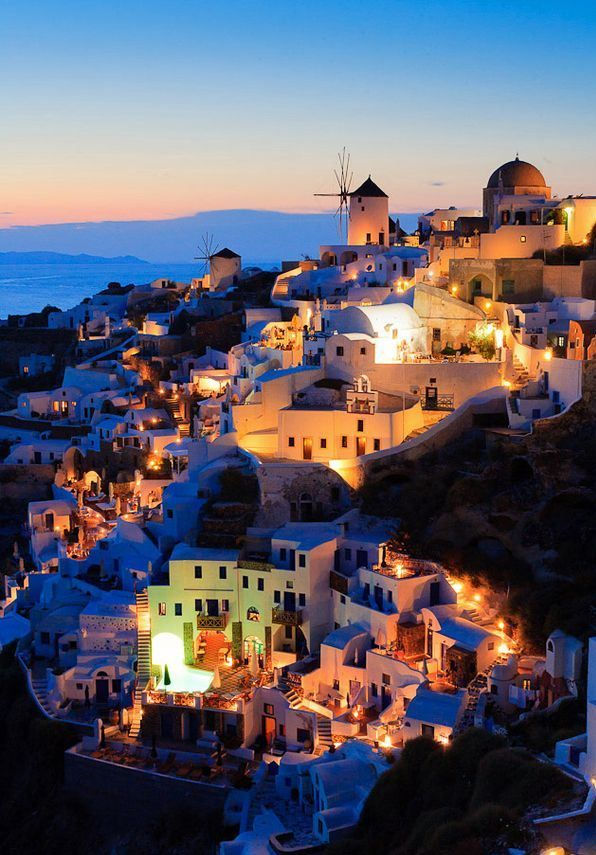 Santorini Greece This Has To Be One Of The Most
