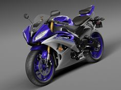 Yamaha YZF R6 2015, Valerii Sendetskyi on ArtStation at https://www.artstation.com/artwork/yamaha-yzf-r6-2015