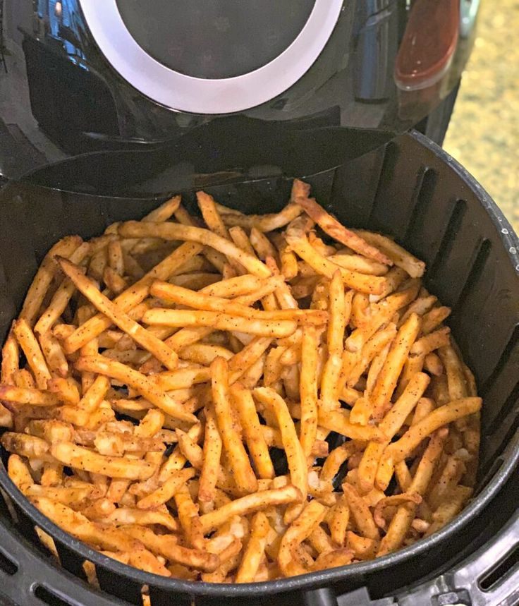 Air Fryer Frozen French Fries Recipe Air frier recipes