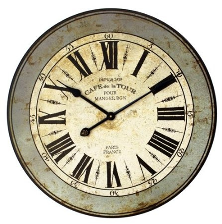 17 Best Images About Wall Clocks On Pinterest Picture Wall Clocks French Wine And Cafe Wall