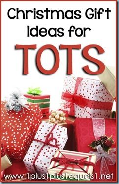Christmas Gift Ideas for TOTS from @{1plus1plus1} Carisa