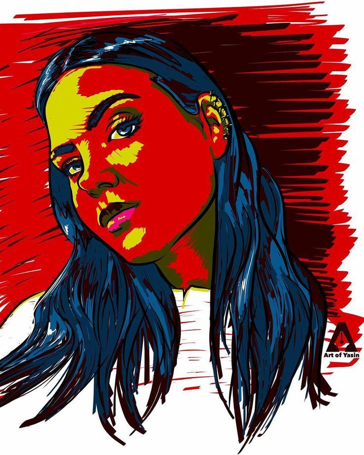 Drawing of the night with new style! Model: @alexandra.deynega - Work: Vector Drawing on iPad Pro with Adobe illustrator Draw App. #artwork #alexandradeynega #artofyasin #adobeart #adobeillustrator #adobedraw #vectordrawing #newstyle #digitalart #digitalillustration #ipadproart #artshelp #supportart #fanart #instaart #thanksforwatching #love #peace #keepfollow #red #art