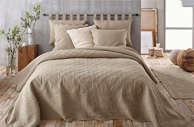 Cabeceiras de cama - varões com almofadas | DECORAÇÃO E IDEIAS - design, mobiliário, casa e jardim