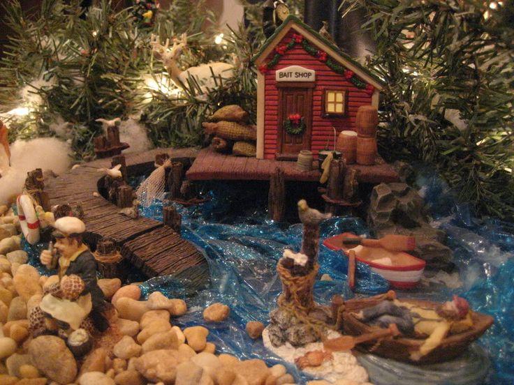199 Best Christmas Village Images On Pinterest