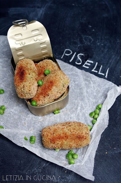 Letizia in Cucina: Crocchette di piselli