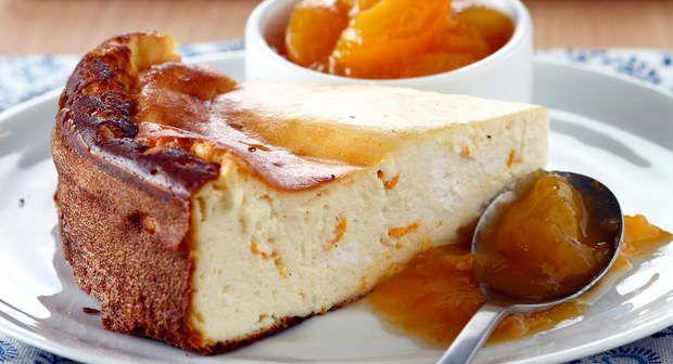 Gâteau au fromage blanc sans pâteVoir la recette >>