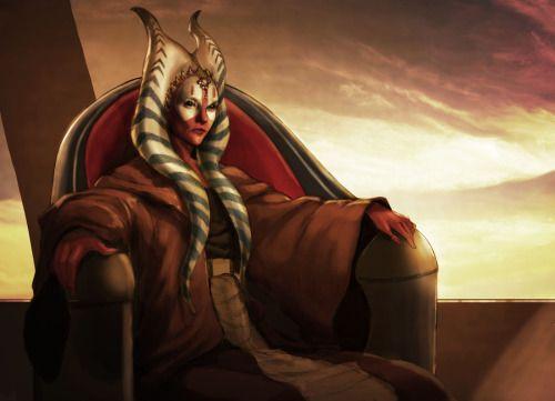 Shaak Ti // Jedi Master, General // Togruta (Rise of the Empire era)
