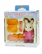 "Epoch Sylvanian Families Sylvanian Family Doll ""Snow Playing Set Se-460cm"