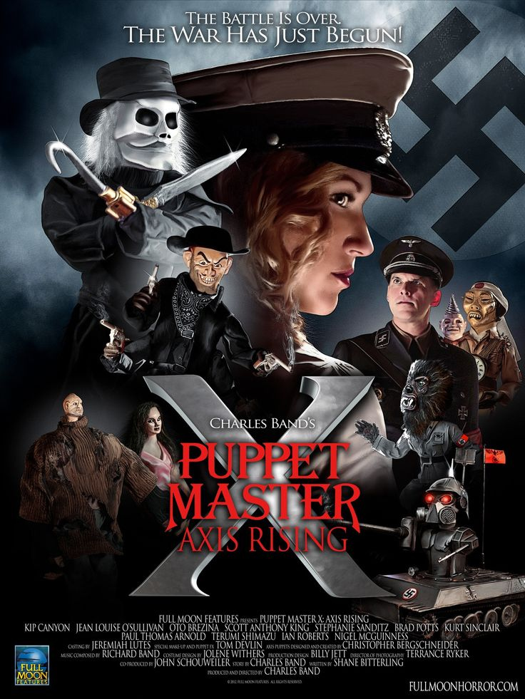80s Horror Movie Posters | Puppet Master X: Axis Rising (2012) Review |