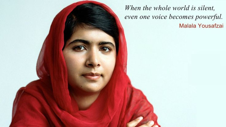 I Am Malala Quotes Stunning 10 Best I Am Malala Images On Pinterest  Malala Yousafzai Quotes